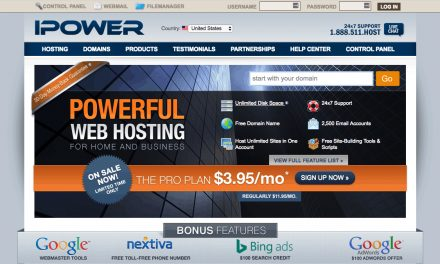 iPower is starter web hosting-2021